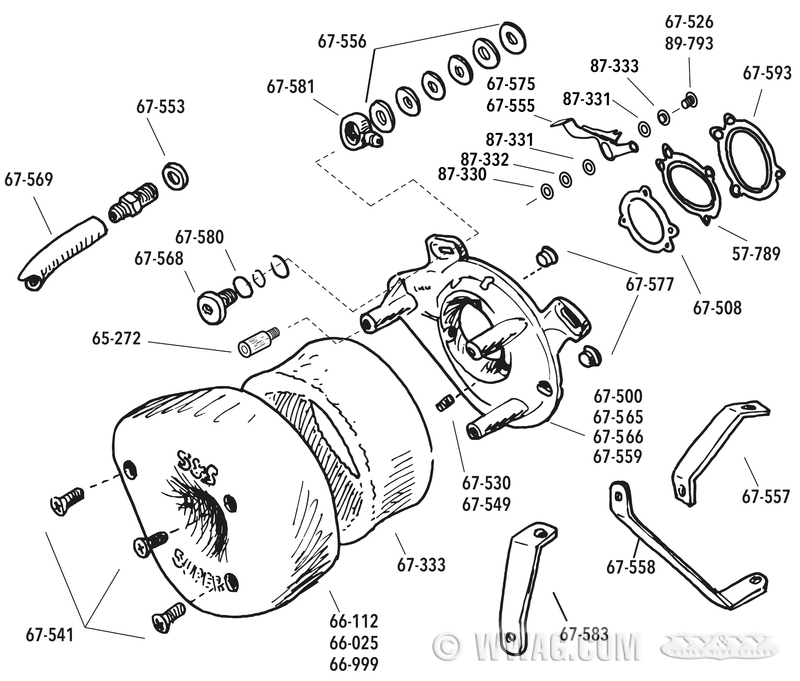 W&W Cycles - Carburetor and Injection > Replacement Parts for S&S