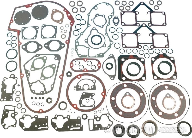 W&W Cycles - Engine > James Gasket Kits for Engines: Shovelhead 1966